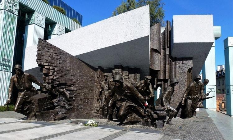 Opstand van Warschau monument