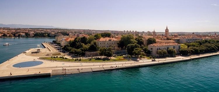 Oude gedeelte Zadar