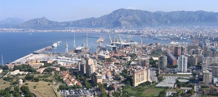 Palermo op Sicilië
