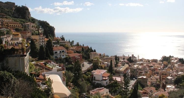 Het plaatsje Taormina