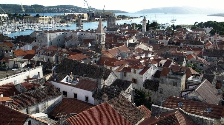 Stad Trogir vakantie