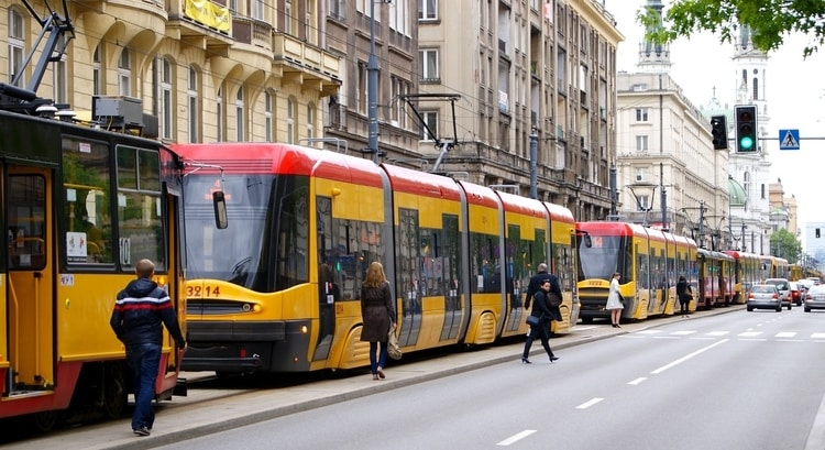 Vervoer in Warschau