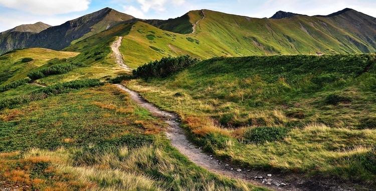 Wandelroutes door Tatragebergte