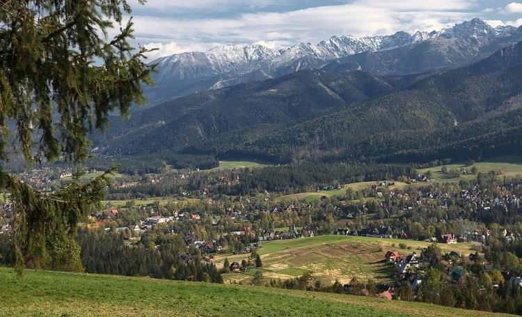 Zakopane in Tatragebergte-polen
