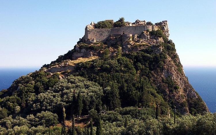 Angelokastro Corfu bezienswaardigheden