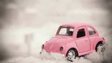 Op wintersport met de auto
