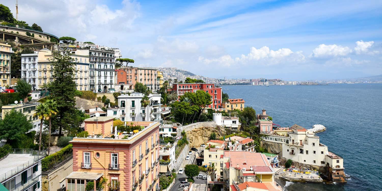 Napels Italië header