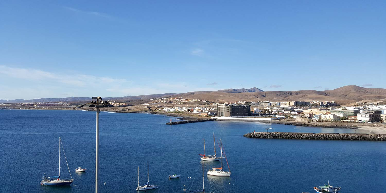 Puerto del Rosario op Fuerteventura