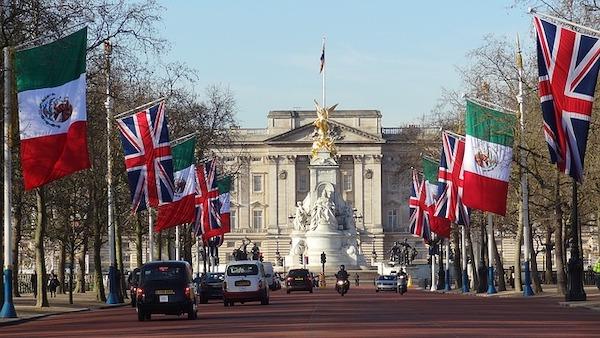 Het Buckingham Palace Londen