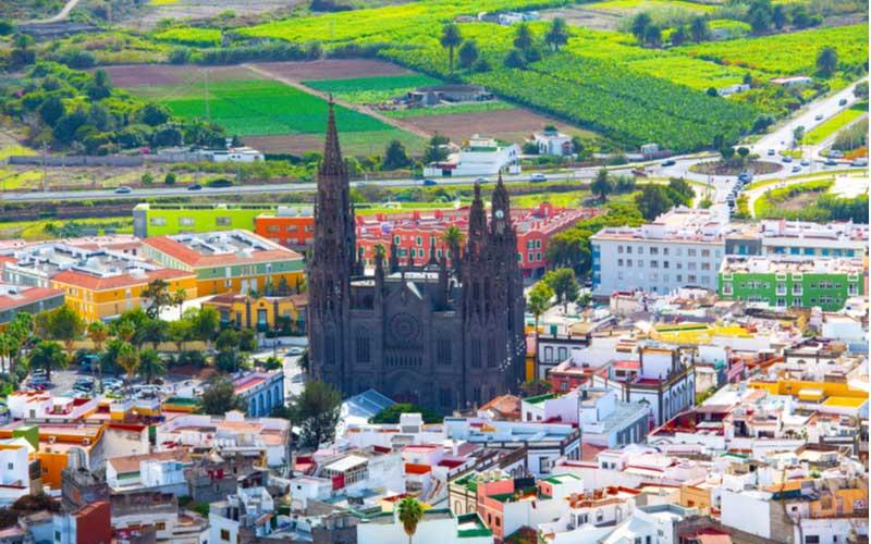 Arucas op Gran Canaria