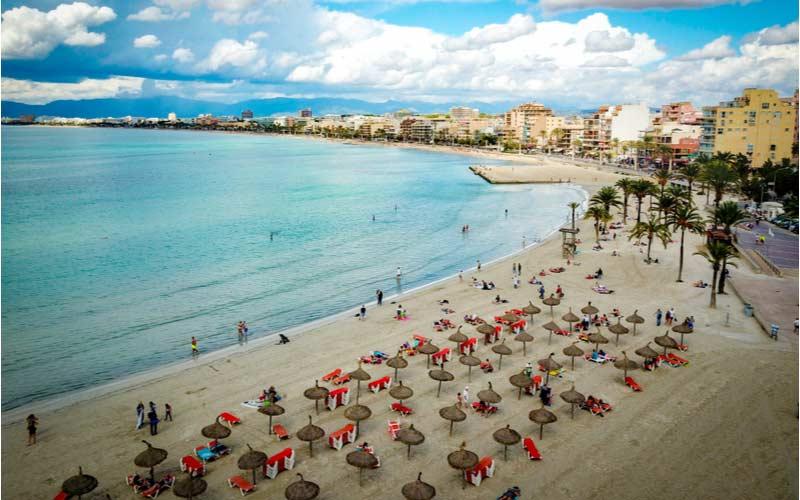 Strand El Arenal beach