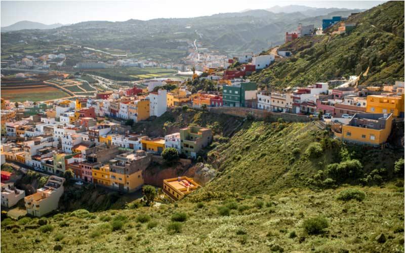 Gáldar stadje op Gran Canaria