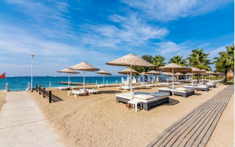 Ligbedden strand Didim