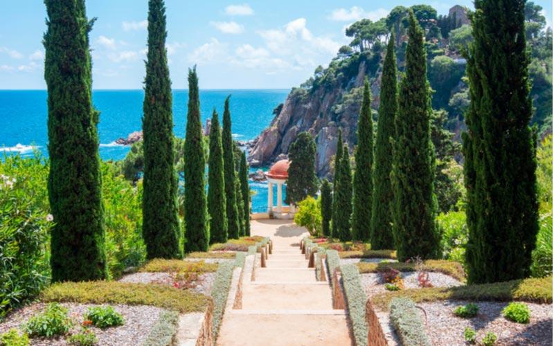 Botanische tuinen in Blanes Mar I Murtra
