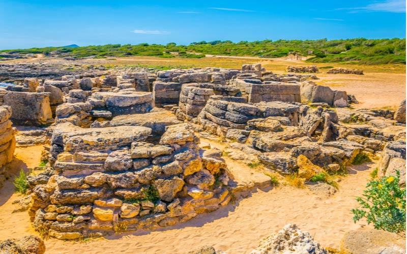 Nekropole von son Real op Mallorca