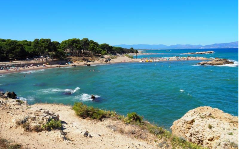 Rec del Moli strand bij L'Eescala