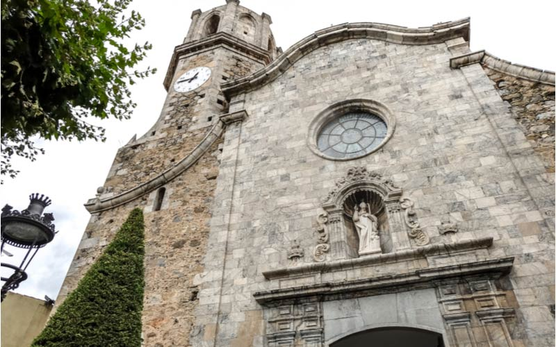 De Sant Nicolau kerk