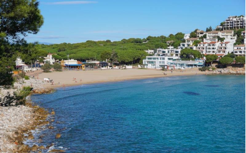 Strand Cala Montgó