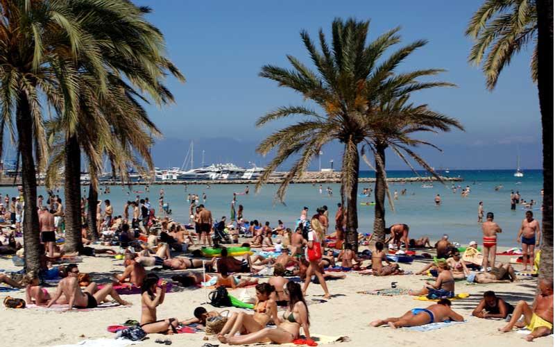 Strand van El Arenal
