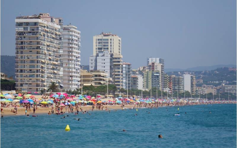 Strand van Platja d'Aro