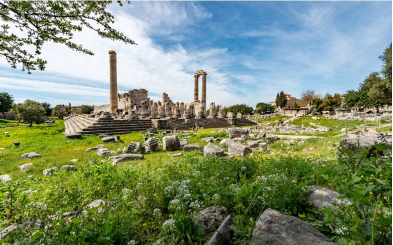 Ruïnes van tempel van Apollo - Didim