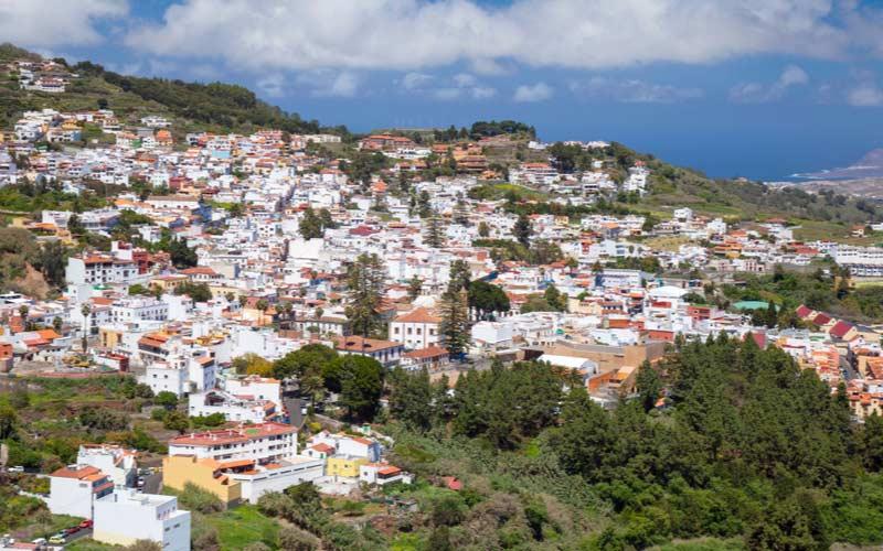 Het stadje Teror op Gran Canaria