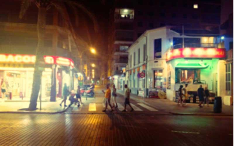 Uitgaan in El Arenal