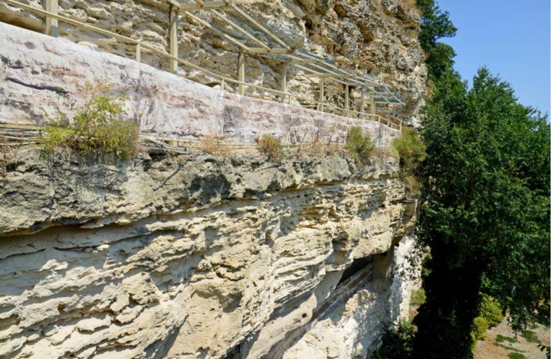 Wandelroute van de Aladzha grotten