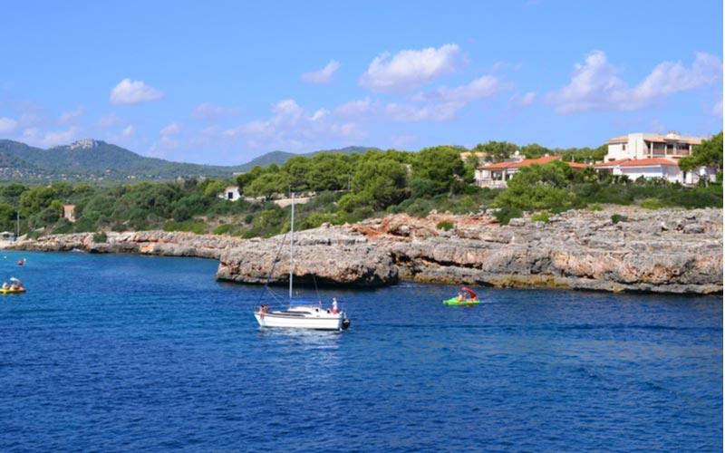 Boottochten op Mallorca Cala d'Or