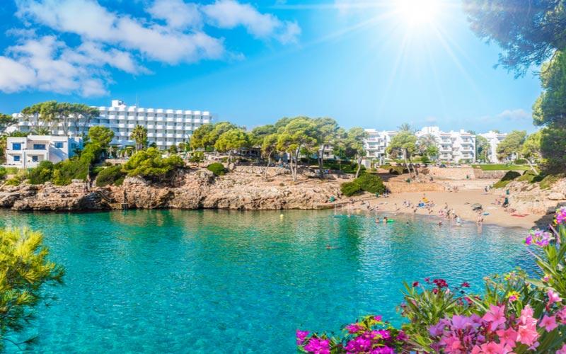 Strand Playa Esmeralda Cala d'Or