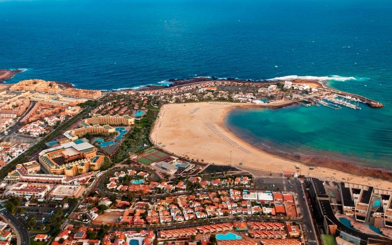 Caleta de Fuste op Fuerteventura