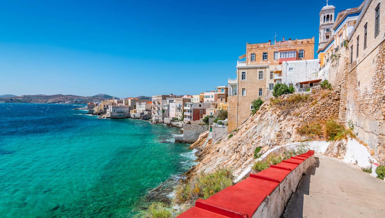 Cycladen Eilanden header