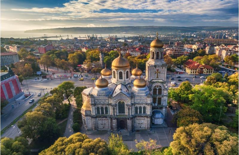 Kathedraal in Varna