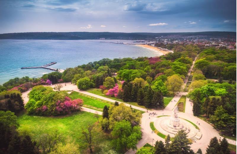 Sea Garden Park Varna Bulgarije