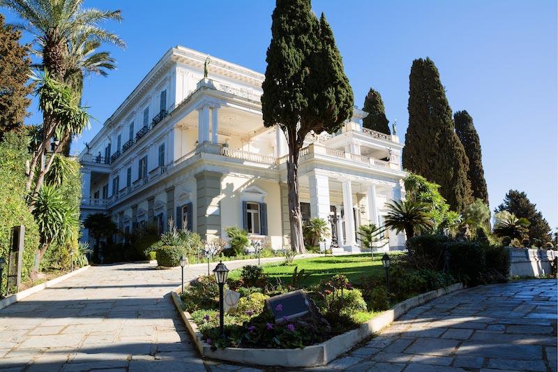 Achillion Palace op Corfu