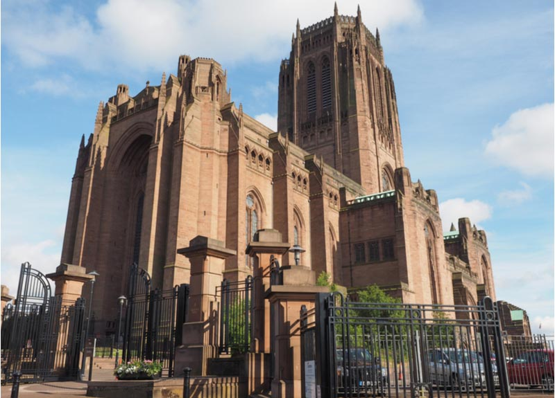 Anglican Cathedral in Liverpool