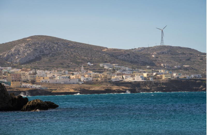 Arkassa op Karpathos