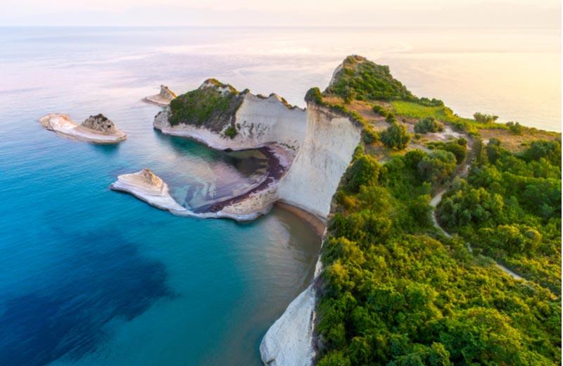 Kaap Drastis op Corfu