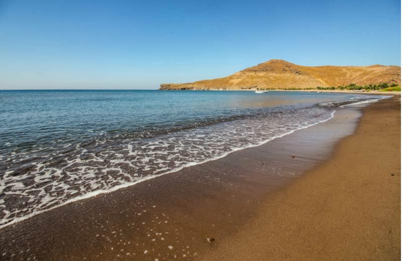 Chrousos Beach op Lesbos