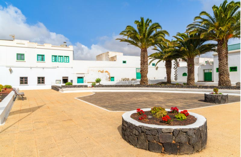 Centrum van Costa Teguise Lanzarote