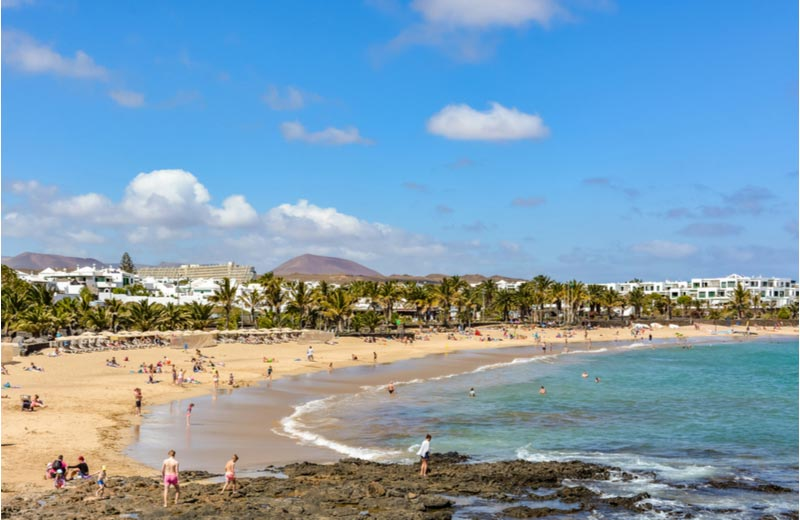 Playa de las Cucharas Costa Teguise