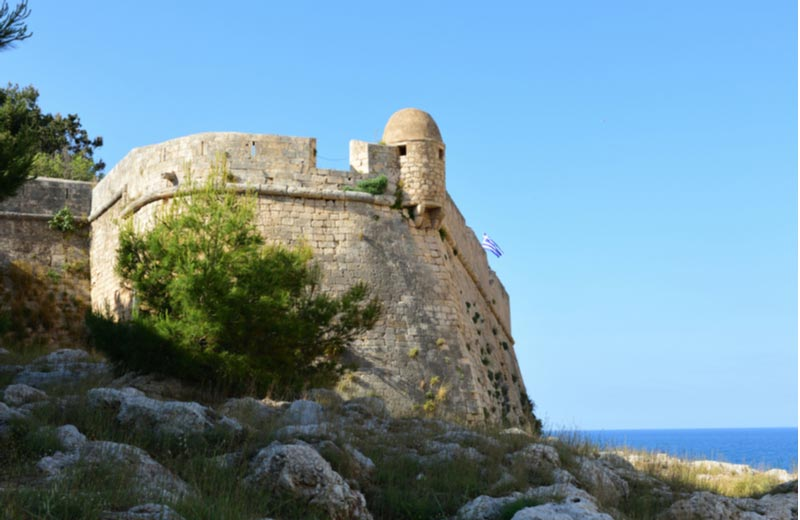 Fort Fortezza  Rethymnon Kreta