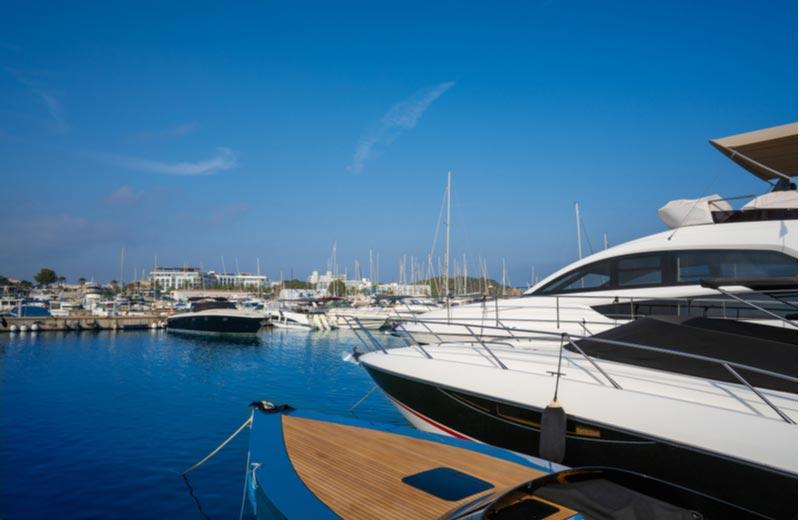 Haven van Santa Eulalia Ibiza