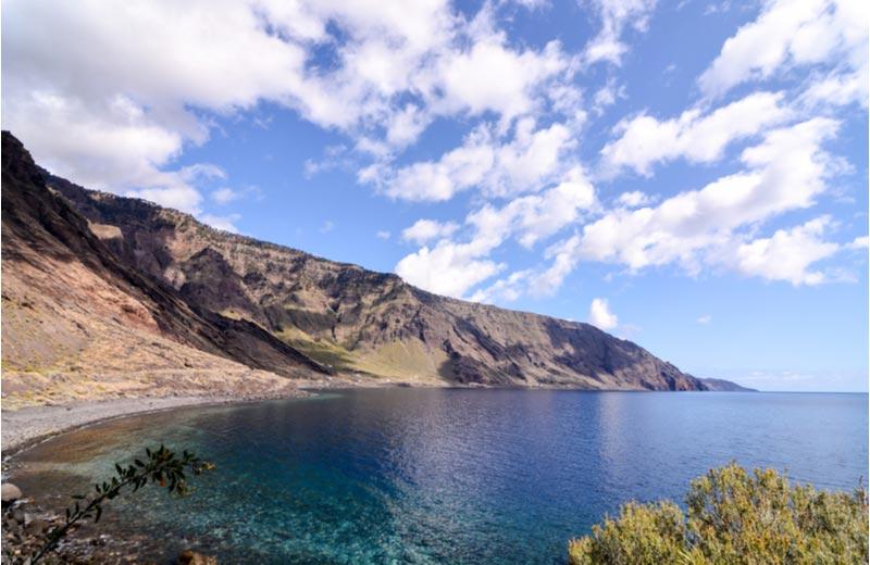 Landschap aan zee - El Hierro