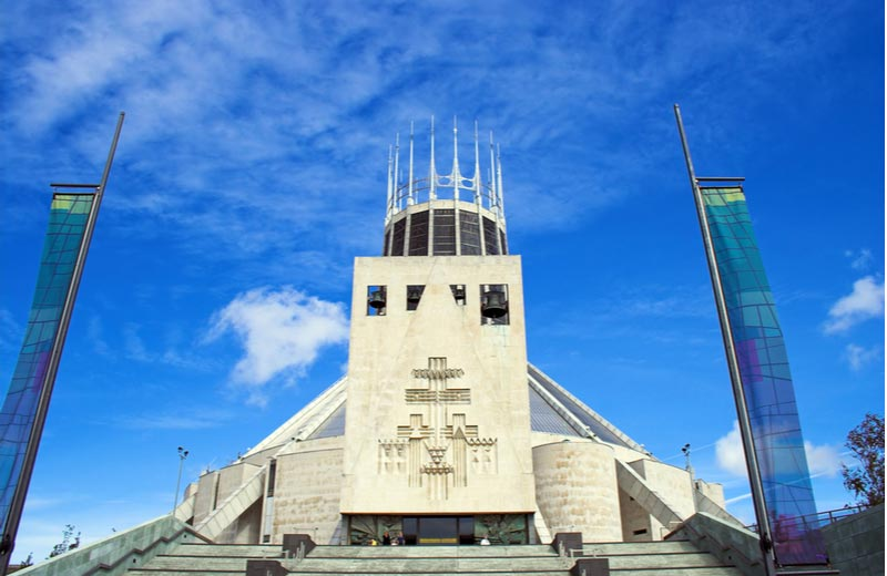 Metropolitan Cathedraal in Liverpool