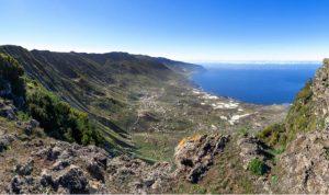 Mirador de Jinama berg op El Hierro