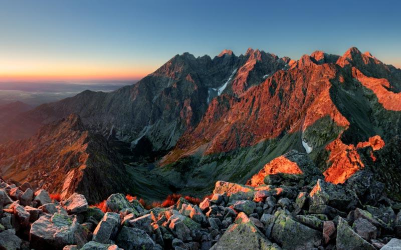 Het mooie Tatra gebergte