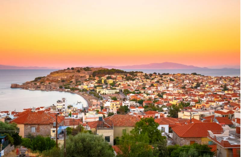 Vakantiebestemming Mytilini op Lesbos