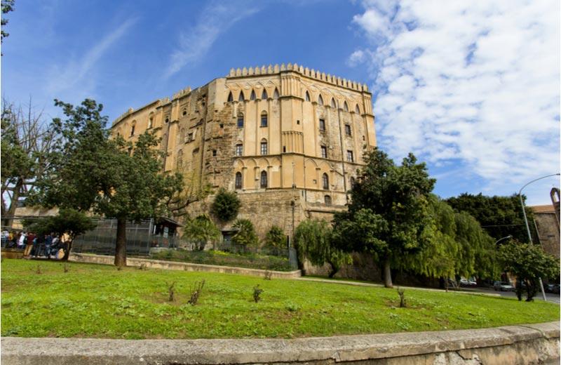 Palazzo dei Normanni in Palermo