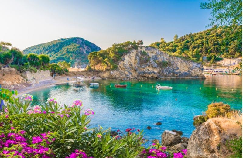 Paleokastritsa op Corfu